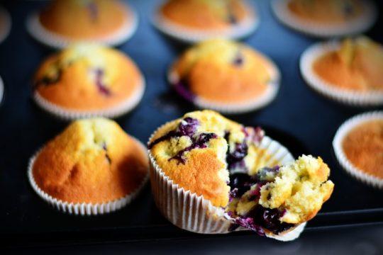 muffiny - babeczki z owocami